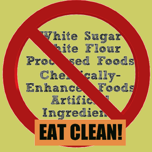 white flour white sugar